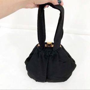 Vintage • Structured Chunky Soft Evening Bag